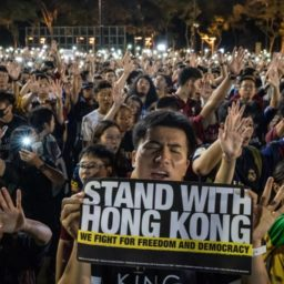Protests Force Hong Kong to Cancel Communist 'National Day' Celebration