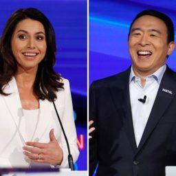 Tulsi Gabbard, Andrew Yang Top Post-Debate Drudge Poll