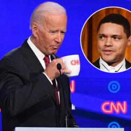 Watch: Trevor Noah Mocks Joe Biden's Debate Night Defense of Hunter Biden