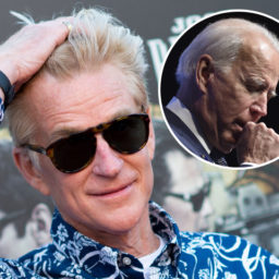 Actor Matthew Modine Slams 'Disconnected' Joe Biden: 'It's Time for You to Go'