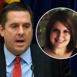 Devin Nunes: Democrats Redacted Name of DNC Operative Alexandra Chalupa in Impeachment Transcripts