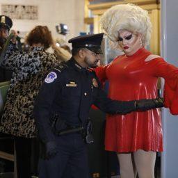 Drag Queen 'Pissi Myles' Crashes Impeachment Hearing