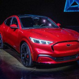 Ford Unveils 'Mach-E' Electric SUV