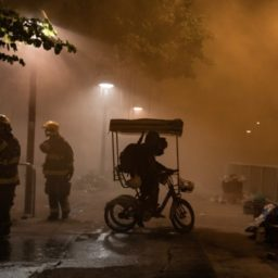 Hong Kong Police Turn University Campus into War Zone