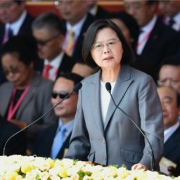 Taiwanese President Calls for Global Defense of Human Rights in Hong Kong
