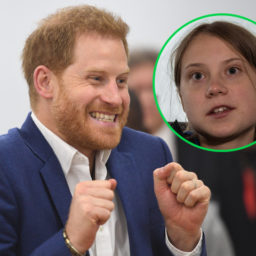 Watch – Prince Harry Applauds Greta Thunberg: 'Whole World Is Paying Attention'