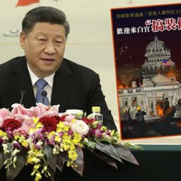 Chinese Government Propaganda Urges Supporters to Burn Down White House