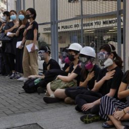 Hong Kong 'Considering Penalties' for Teachers over Student Protests