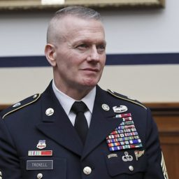 Senior Enlisted Military Adviser John Troxell Retires with Warning to ISIS: 'Surrender or Die!'