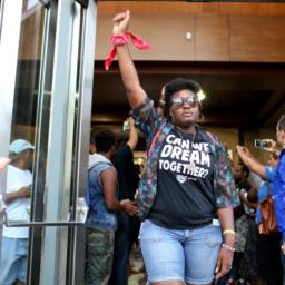 Anti-Police Dream Defenders Group Mobilizes to Help Bernie Sanders Win Primary