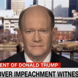Coons: 'I Don't Expect' We'll Have 'Successful Vote' on Witnesses and Documents at Start of Trial