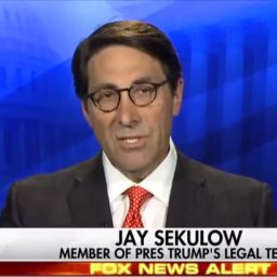 Sekulow: We'll Argue 'It's Not Necessary to Have Witnesses' – Don't Think There Will Be Witnesses