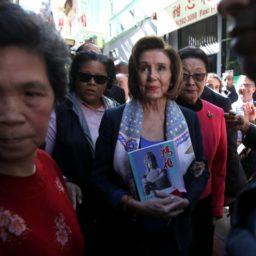 Nancy Pelosi Dismissed Coronavirus Threat in February Chinatown Visit: 'Everything Is Fine Here'
