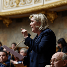 Le Pen Calls For Dissolution of French Parliament After Macron Loses Majority