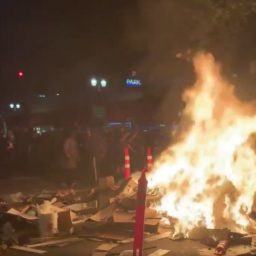 Portland Rioters Burn Police Station, Justice Center