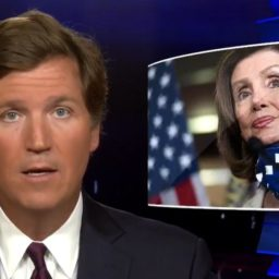 Tucker Carlson on Pelosi's Fat-Shaming Remarks: 'People with Glass Faces Should Not Throw Stones'