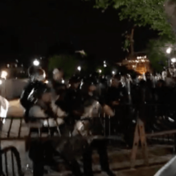 Watch Live: Secret Service Battles Protesters at White House