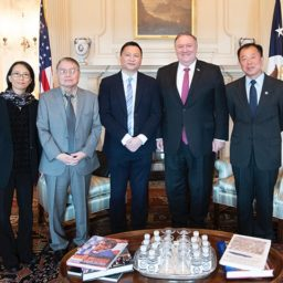 Pompeo Honors Tiananmen Anniversary in Meeting with Survivors