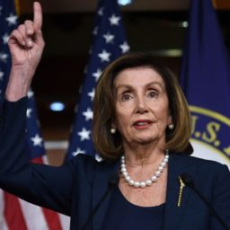 Pelosi: Trump Is 'Projecting Himself' When He Says Biden Is Against God — He Knows Nothing About Church