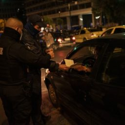 Athens Police Hand Out E100k in Coronavirus Fines in Just Two Hours