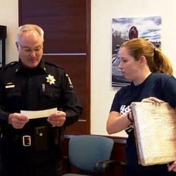 Back the Blue North Carolina Donates $10,000 to Fallen Deputy's Children