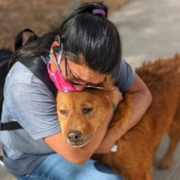 Woman Reunited with Dog After He Disappeared Seven Years Ago
