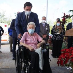 Gov. DeSantis: Florida Will Have Offered Vaccines to Every Nursing Home Resident by February 1