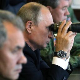 Russia Stages Military Drill in Occupied Crimea