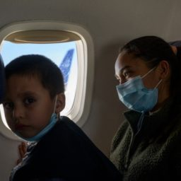 Border Crossers Flying for Free into U.S. with Help from Catholic Charities