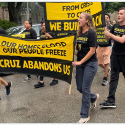 Police: Climate Protesters Arrested Outside Ted Cruz's Home