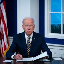 President Joe Biden's Polling Average Under Water
